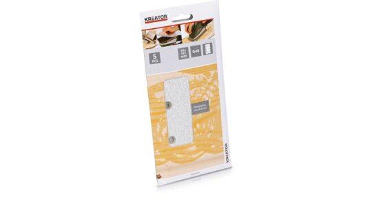 Velcro sandpapir 93 x 187 mm - korn 240 værktøj