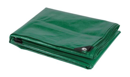 Presenning grøn 10x12m 120 gram værktøj