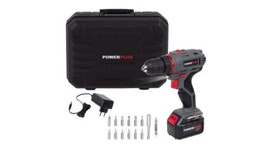 Bore og skruemaskine i kuffert 14,4 Volt værktøj