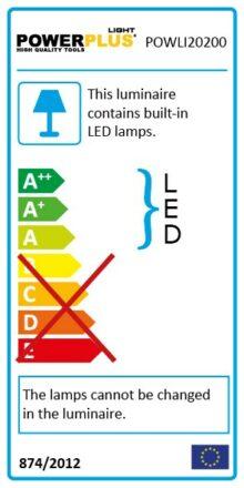 Projektør 20 Watt LED til udendørs brug værktøj