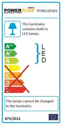 Projektør 30 Watt med sensor LED - IP 65 værktøj