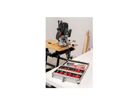 Fræsejern Ø 8 mm - 15 dele værktøj