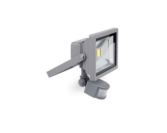 Projektør 20 watt med sensor LED værktøj