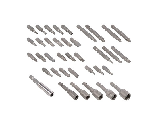 Knæk skruetrækker med 37 dele 3,6 Volt