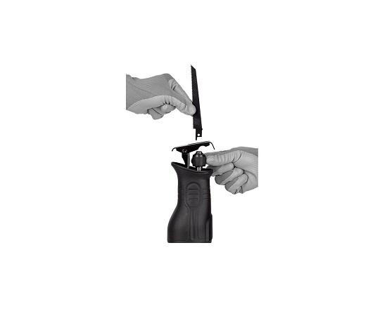 Bajonetsav med 2 klinger 900 wat værktøj