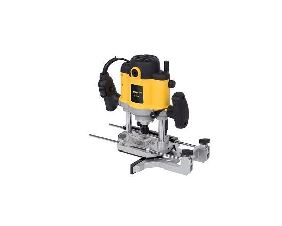 Overfræser 1500 watt med 12 fræserjern værktøj