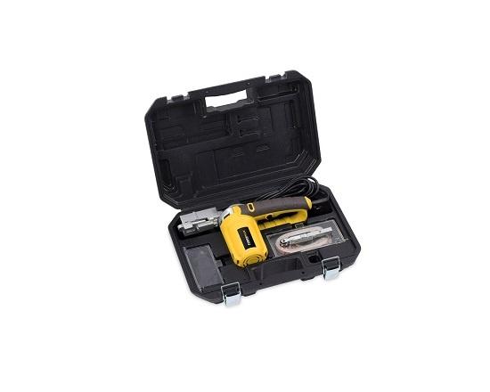 Båndsliber smal 13 mm i kuffert +10 bånd værktøj