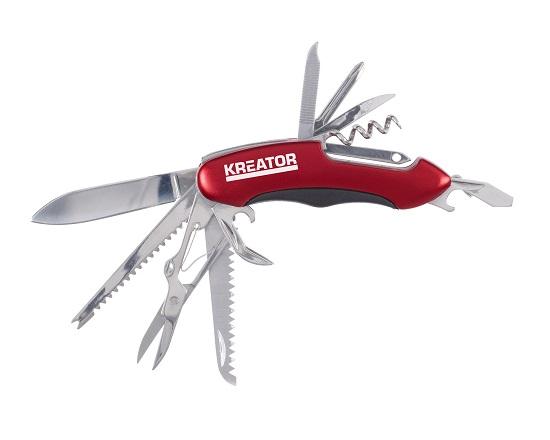 Lommekniv 15 funktioner - rustfri stål værktøj