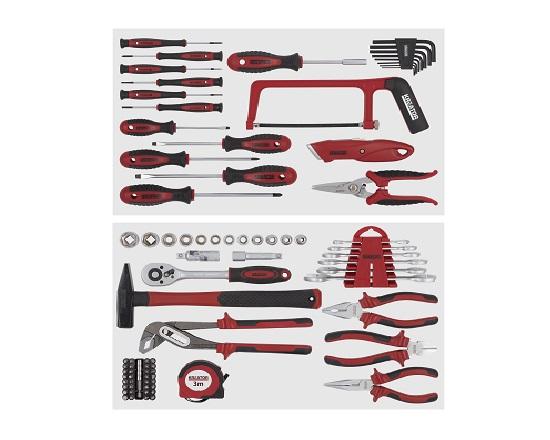Værktøjssæt 83 dele værktøj
