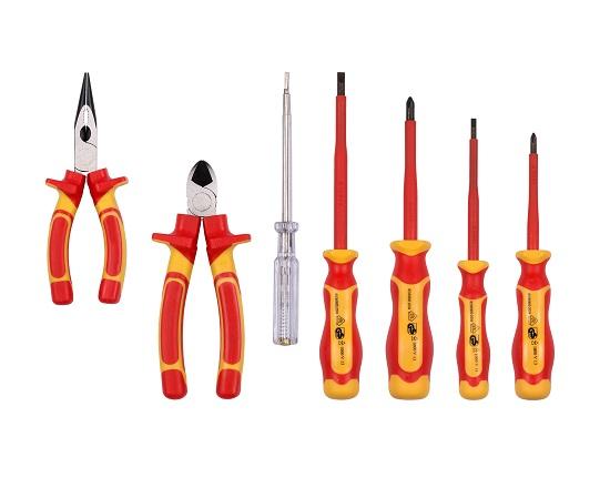 VDE Værktøjssæt 7 dele værktøj