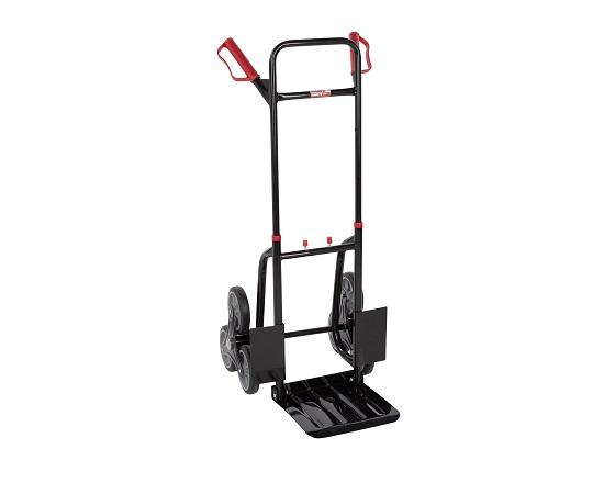 Sækkevogn 120 kg med 6 hjul værktøj