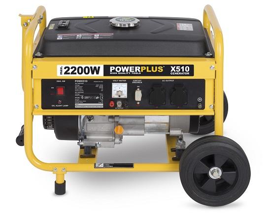 Benzin generator på hjul 4 KW 230 Volt værktøj