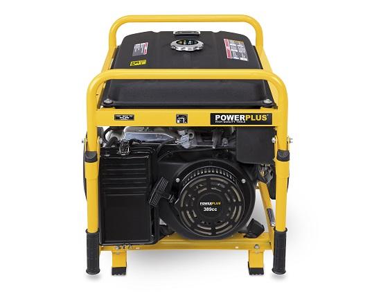 Benzin generator på hjul 8,6 KW 230 V værktøj