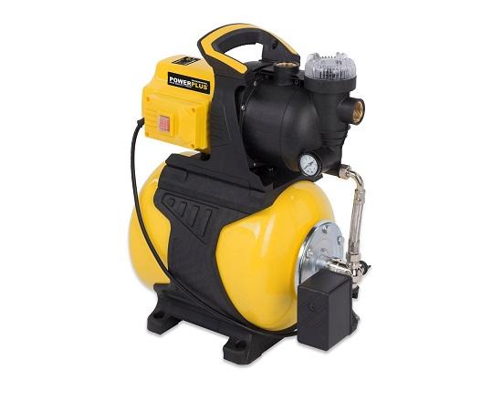 Husvandværk med 19 liter beholder 600 W værktøj