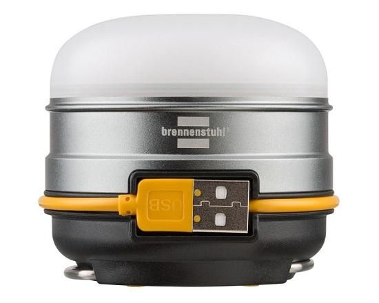 LED Campinglampe USB og powerbank værktøj