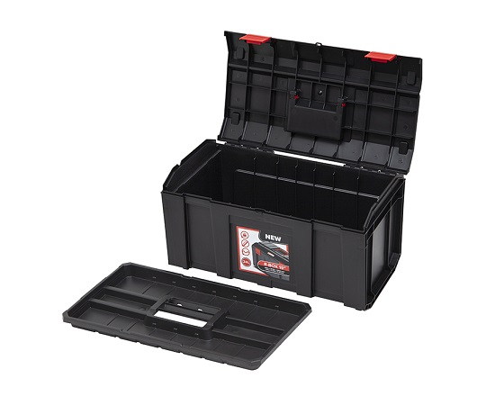 Værktøjskasse 19'' værktøj