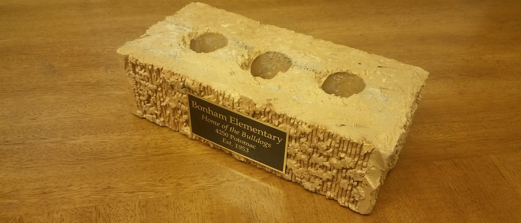 Bonham Elementary Bricks are Available to Purchase