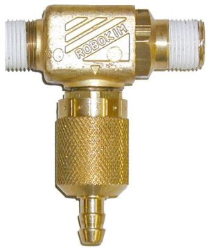 Brass chem. Inj.-2.5mm orifice #ZROBO2B