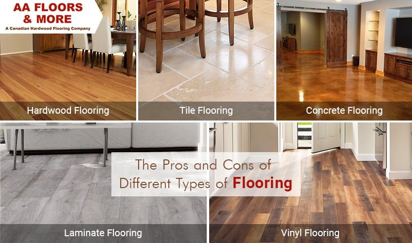 Benefits And Drawbacks Of Different Types Of Flooring