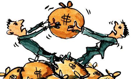 Em jogo, os impostos do povo brasileiro. Ilustração: hikingartist.com