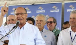 Geraldo Alckmin levou o bônus e ônus do Centrão. Foto: GOVESP