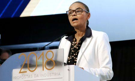 Marina Silva, líder de um eleitorado que vem pecando pela omissão. Foto: Ándre Carvalho/CNI.