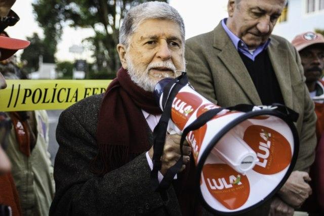 Celso Amorim: ativando contatos do PT nas elites estrangeiras. Foto: Joka Madruga/Agência PT