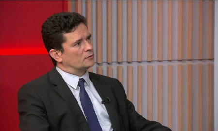 Moro: caso Marielle pode parar em Brasília. Imagem: Reprodução/Globonews