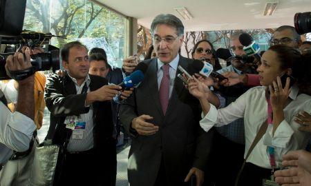 O ex-governador Fernando Pimentel: agora nenhum jornalista consegue falar com ele. Foto: Marcelo Camargo/Agência Brasil