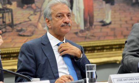 O delator José Antunes Sobrinho, em foto na CPI dos fundos de pensão: ele falou sobre mais de um ex-presidente. Foto: Fabio Rodrigues Pozzebom/Agência Brasil