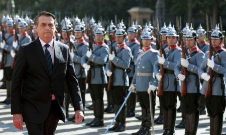 Bolsonaro no Chile: fã de Pinochet, Stroessner e Ustra vai curtir o dia 31. Foto: Marcos Corrêa/PR
