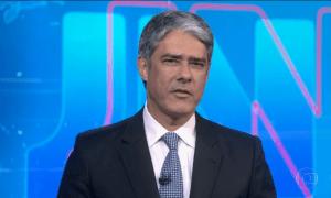 'JN' ajudou o ministro Moro a ilustrar o argumento de que o povo 'não aguenta mais'. Foto: Reprodução/TV Globo
