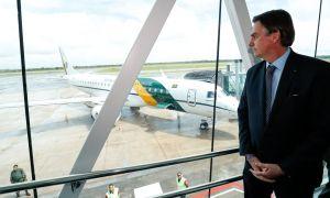Bolsonaro em Macapá: 'dilmada' na Petrobrás para apaziguar os caminhoneiros. Foto: Alan Santos/PR