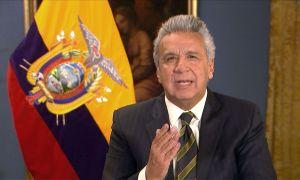 Lenín Moreno: o antecessor Correa jogou no ventilador. Foto: Reprodução/Lenín Moreno/Twitter