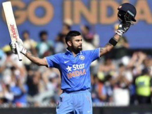virat kohli century in test match against new zealand