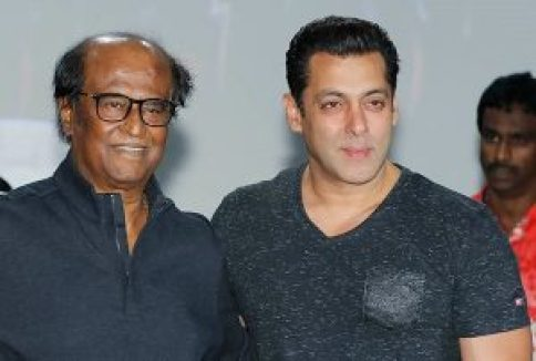 salman khan meets rajinikanth