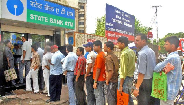 fifth day of banning 500 and 1000 rs notes