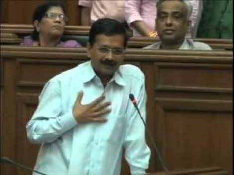 kejriwal speaking against narendra modi on taking bribe