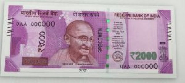 2000 rs notes will be withdrawn according to s gurumurthy