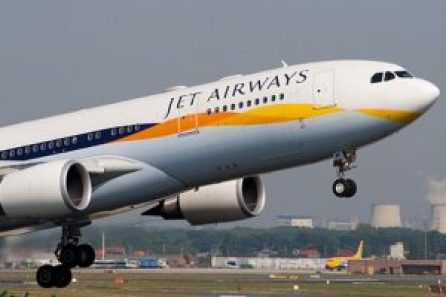jet airways plane hijacked by 80 passengers