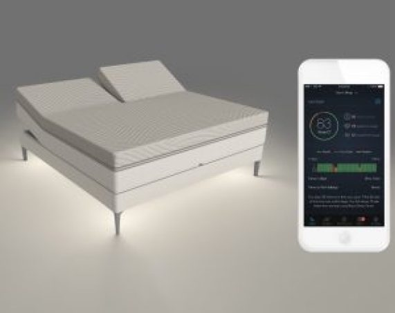 smart bed that adjusts for stopping snore
