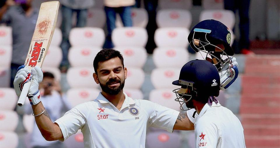 team india made 10 new records in hyderabad tset match against bangladesh