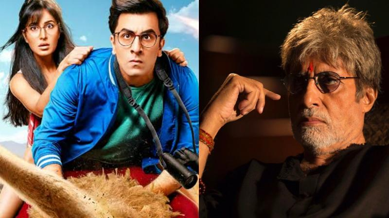 amitabh bachchan's sarkar 3 and ranbir kapoor's jagga jasoos will release together on 7 april