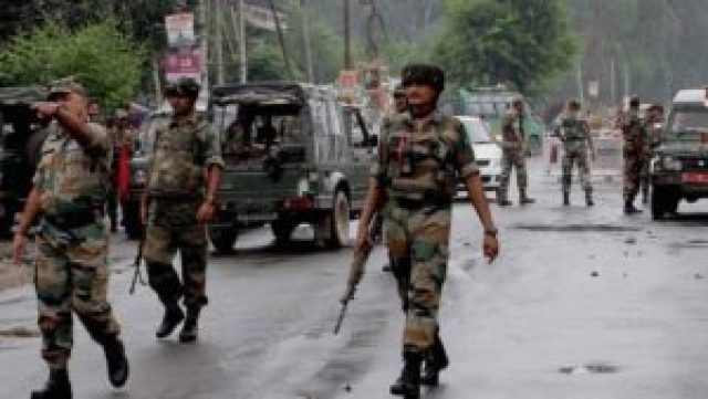 one person killed due to encounter between army and terrorists in jammu kashmir