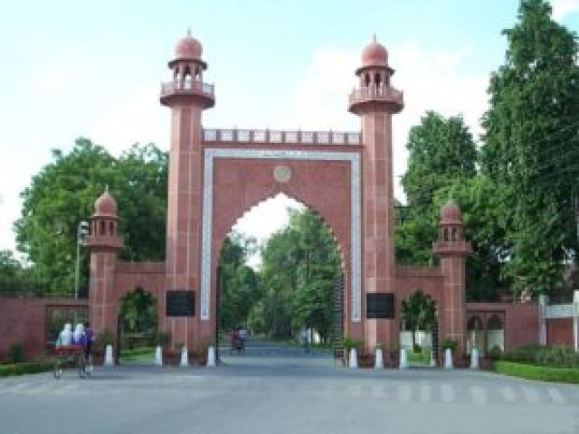 aligarh muslim university students came in favour of doctor abdul majid