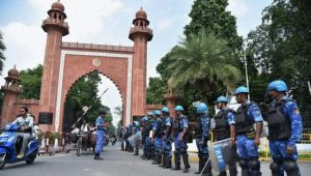 amu students said that hindu and muslim students are united