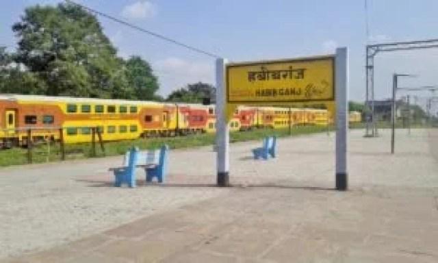 prime minister narendra modi sold habibganj railway station