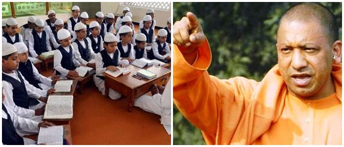 yogi government stops fund to 46 madrasas in up