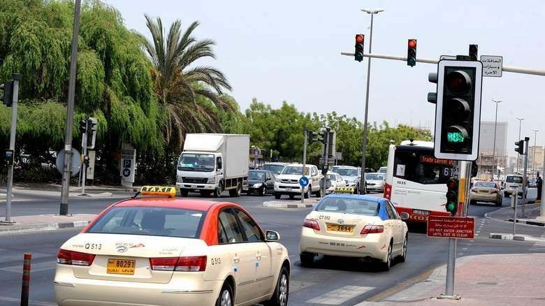 a man was fined heavily for breaking traffic rules in uae