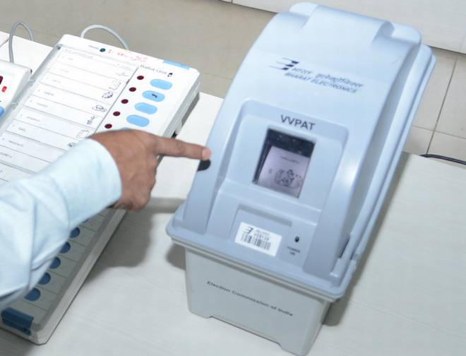 vvpat machine faulty gujarat गुजरात elections